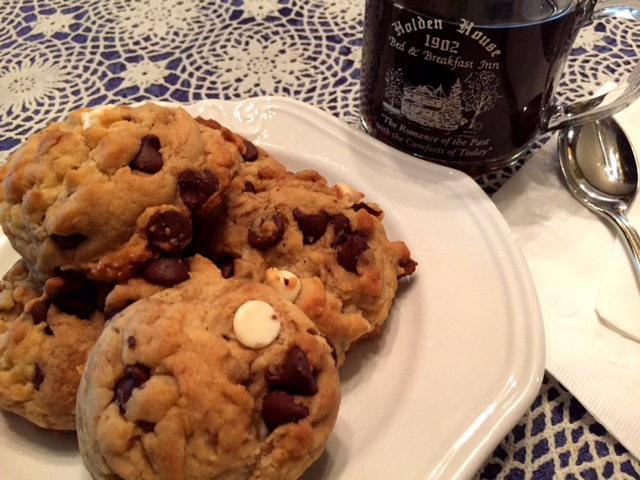 Holden House Chocolate Chunk White Chocolate Chip Cookies