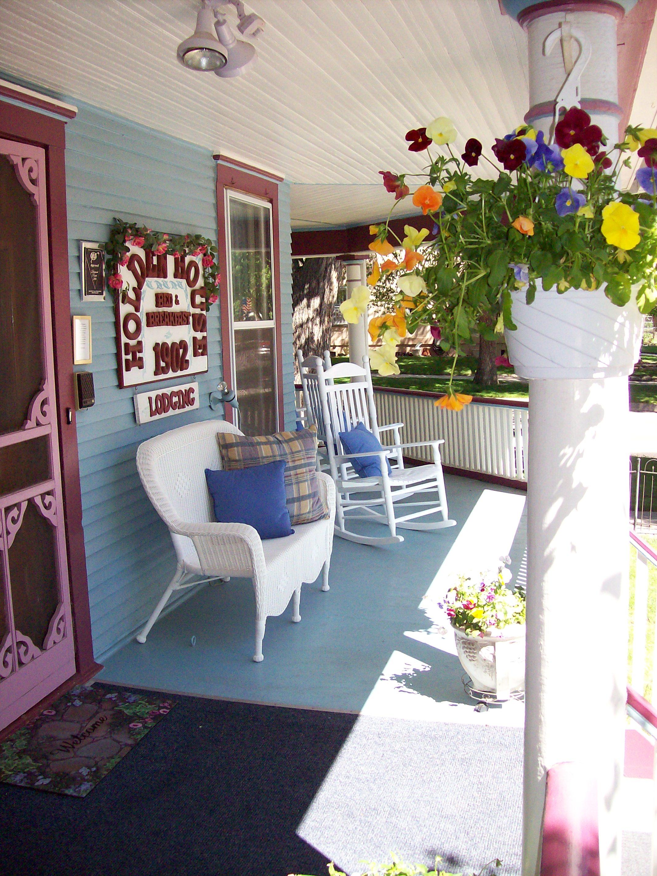 Holden House verandah