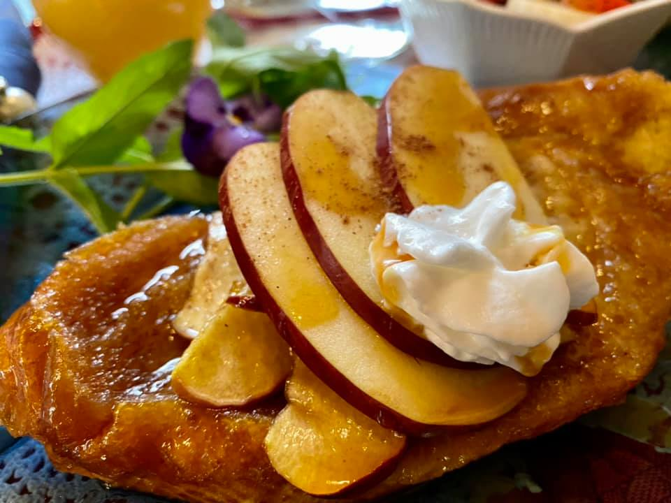 Caramel Apple French Toast clsup