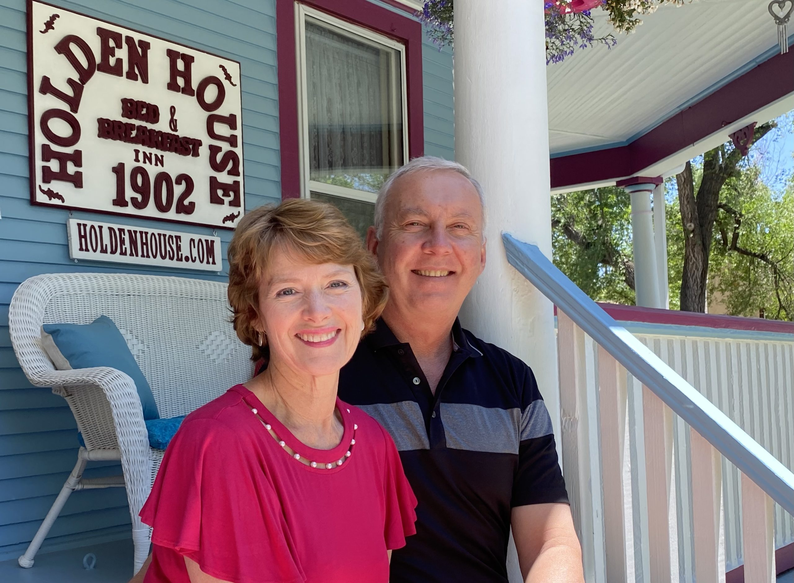 Sallie and Welling Clark celebrate 35 years in business at Holden House B&B