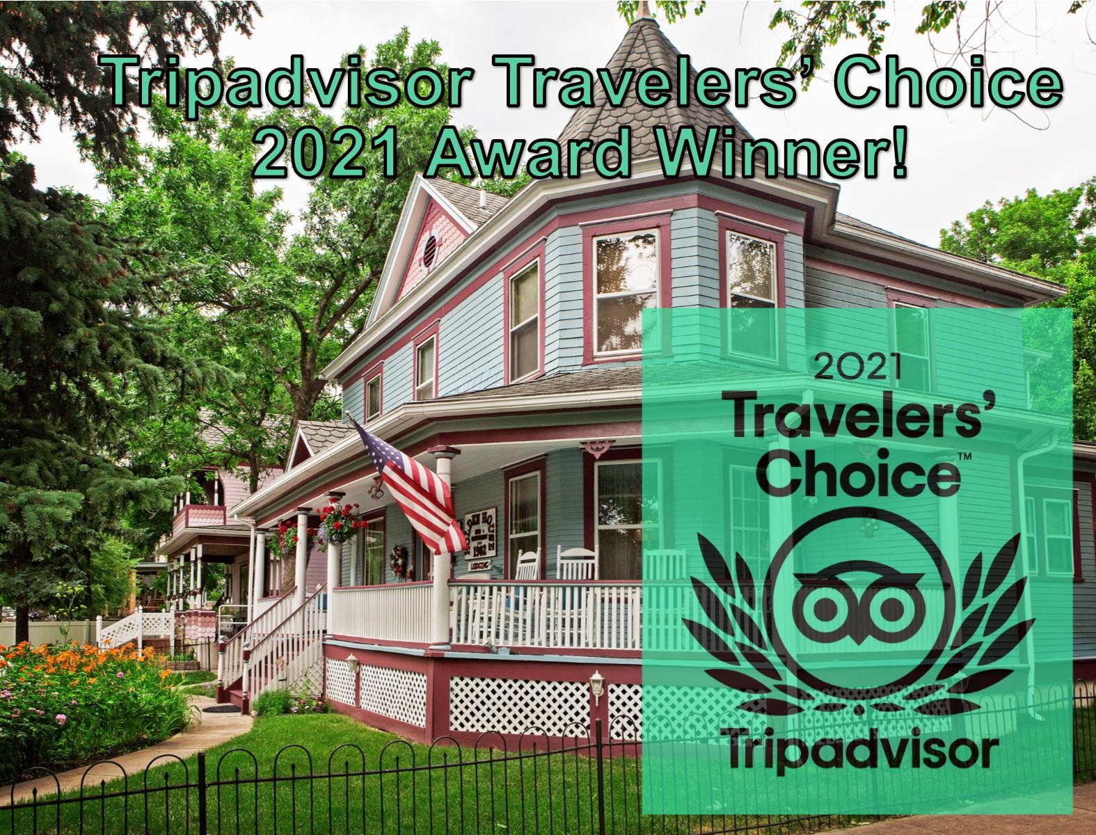 Tripadvisor Award for Holden House 2021