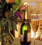 The Holden House Sparkle package includes champagne and breakfast served in the privacy of your suite