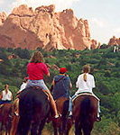 Horseback riding packages in Garden of the Gods Park