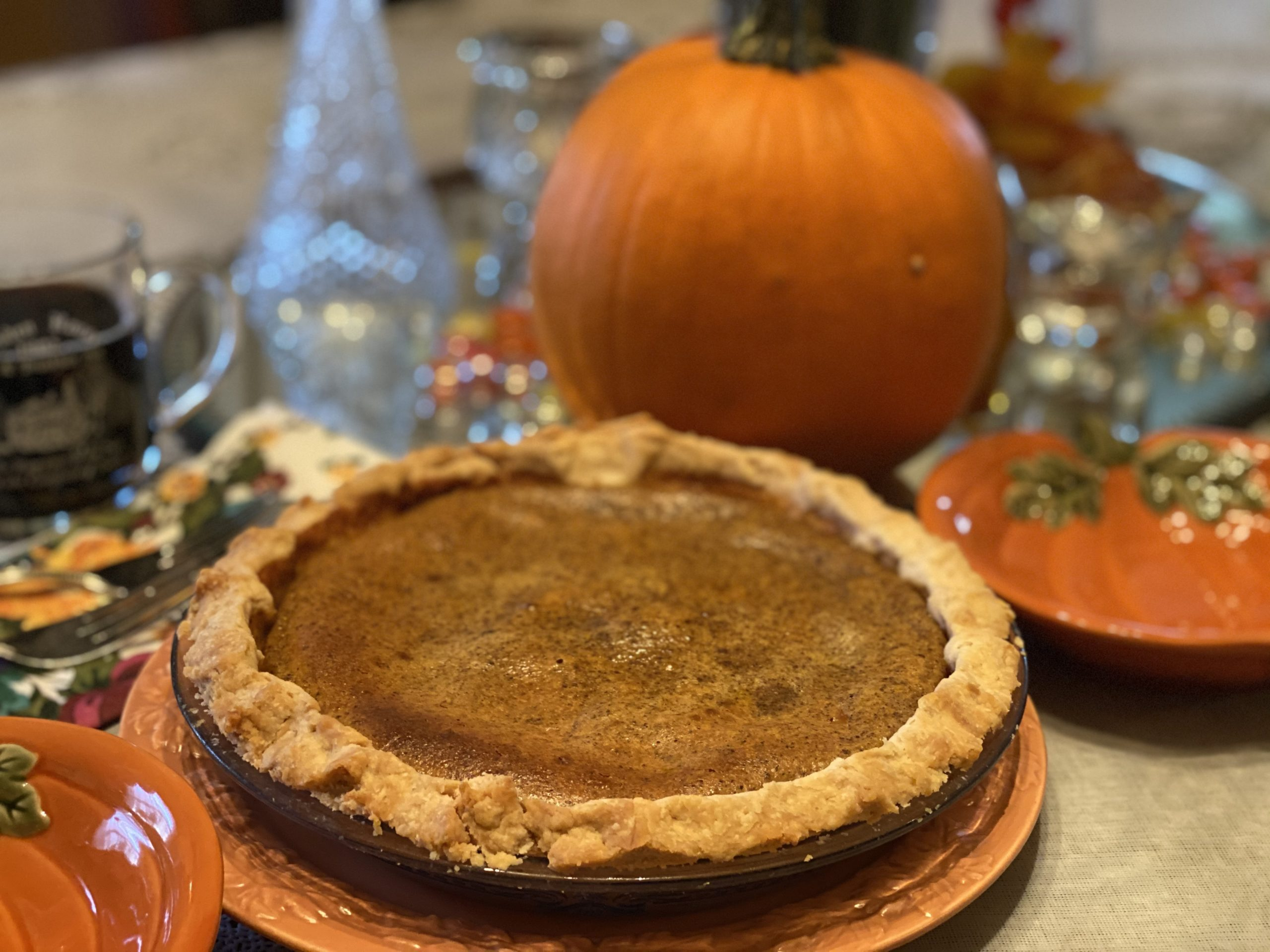Pumpkin Pie Recipe Holden House