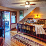 Holden House features beautiful guest suites, each with private bath and fireplace