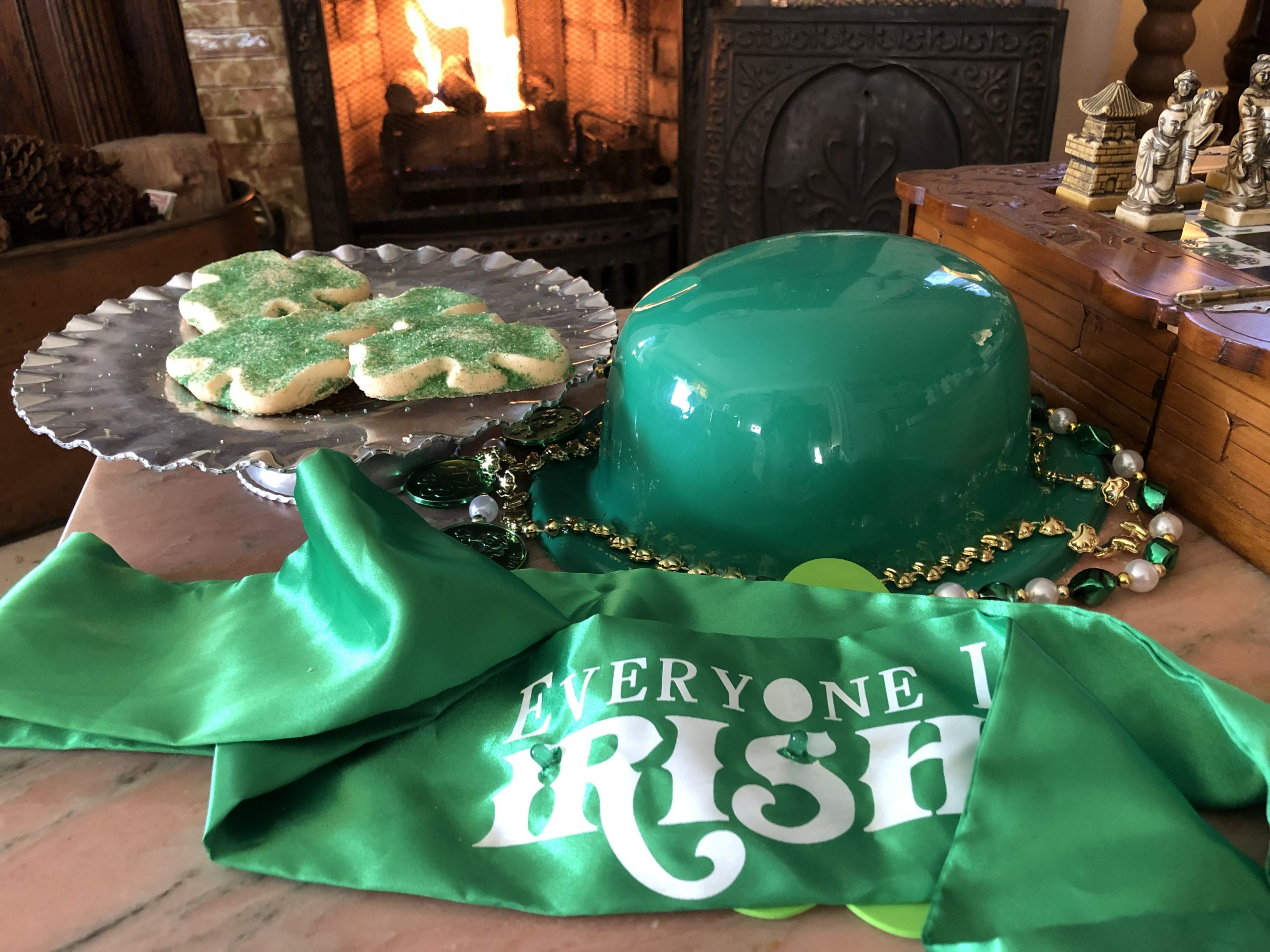 Holden House is offering March and St. Patrick's Day specials