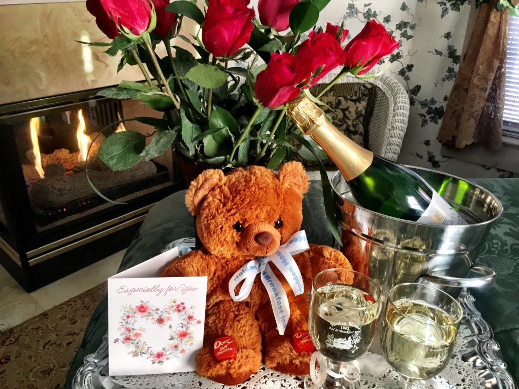 Valentines Packages at Holden House