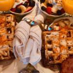 Carrot Cake Waffles Holden House
