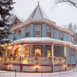 Holden House Bed & Breakfast at Christmastime